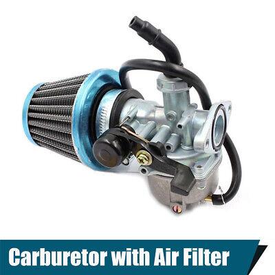 Carburetor With Right Hand Choke Air Intake Filter for Dirt Bikes ATV GO KART