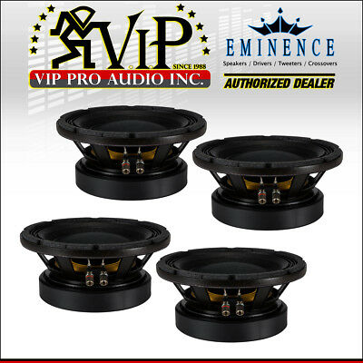 "4x Eminence KAPPA PRO-10LF 10"" 1200W PA Replacement Speaker Low Frequency Woofer"