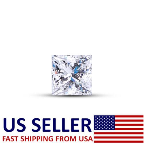1.6mm PRINCESS CUT LOOSE NATURAL UNTREATED DIAMOND F