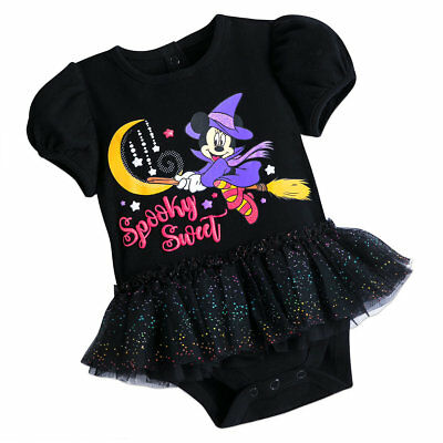 Disney Store Minnie Mouse Halloween Bodysuit for Baby