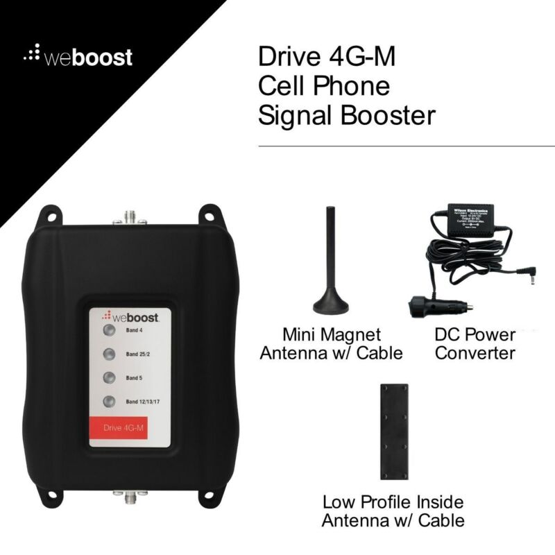 Wilson weBoost Drive 4G-M Wireless Vehicle Cell Phone Signal Booster