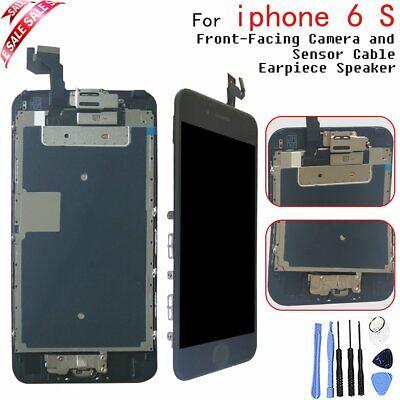Für iPhone 6S Screen Ersatz Digitizer LCD Touch Display Schwarz Taste & Kamera ()