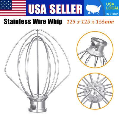 Wire Whip Beater Mixer Attachment Whisk Home For KitchenAid K45WW KSM90 KSM150