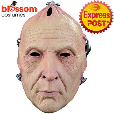 AC394 Saw Jigsaw Tobin Bell Creepy Costume Mask Face Killer Halloween Horror