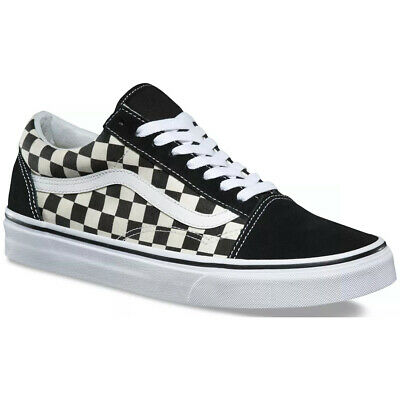 Vans Unisex Primary Check Old Skool Skate Shoes