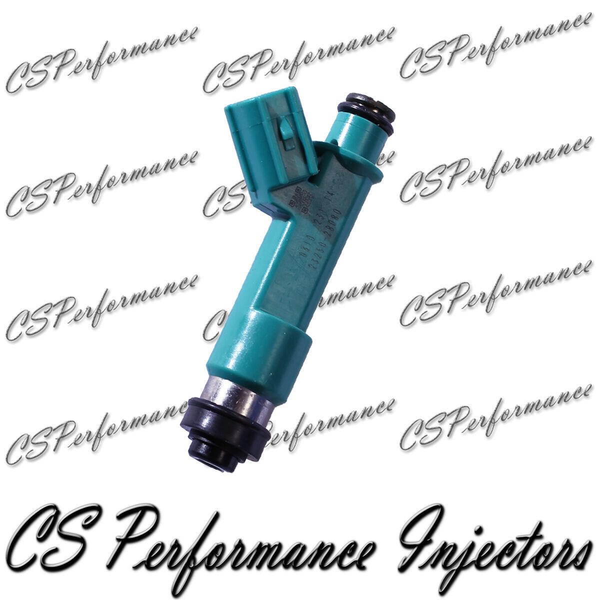 OEM Denso Fuel Injectors Set 4 23250-28080 Rebuilt by Master ASE Mechanic USA