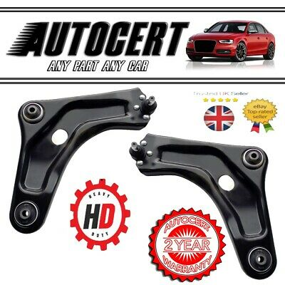 PEUGEOT 207 2006> FRONT SUSPENSION TRACK CONTROL ARMS / WISHBONES - LEFT & RIGHT