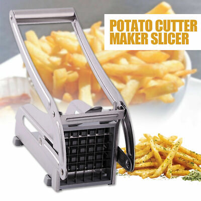 Stainless Steel Kitchen Slicer French Fry Vegetable Potato Cutter Blade/Machine