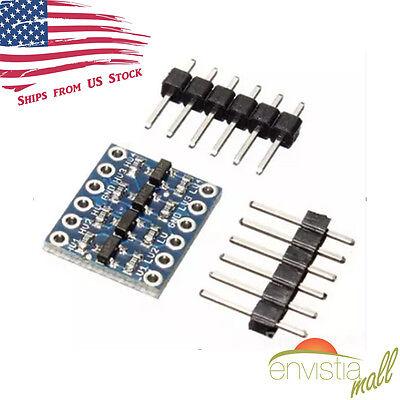 Iic I2c Bi-directional 5v To 3.3v Logic Level Converter Module For Arduino Usa