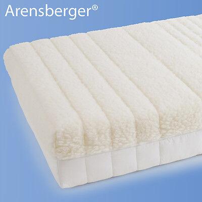 Arensberger ® 7-Zonen Wende-Matratze Sommer- Winterseite 90x200x20cm bis 80kg