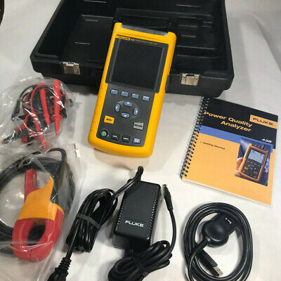 Fluke 43b Single Phase Power Analyzer Quality Analyzer