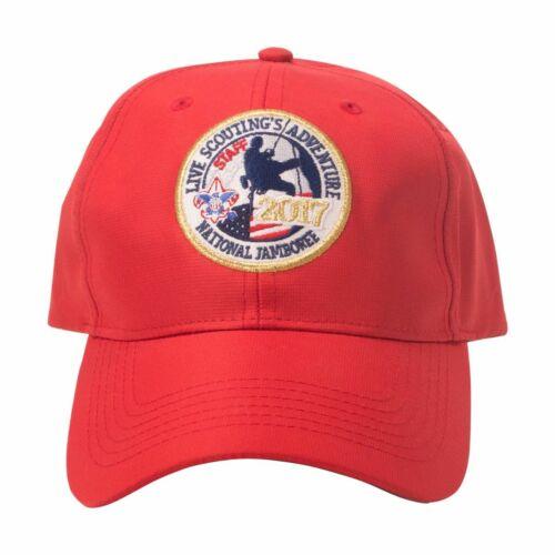 Boy Scout Official 2017 National Jamboree Staff Cap Hat Adjustable Adult Teen Sz