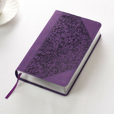 Kjv Holy Bible King James Version Giant Print Purple Faux Leather Brand New