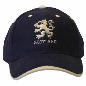 Scotland Lion Logo Embroidered Baseball Cap (C159)