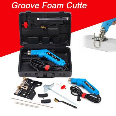 Electric Hot Knife Foam Cutter Foam Sculpture Cutter 6 Straight Brades110v150w