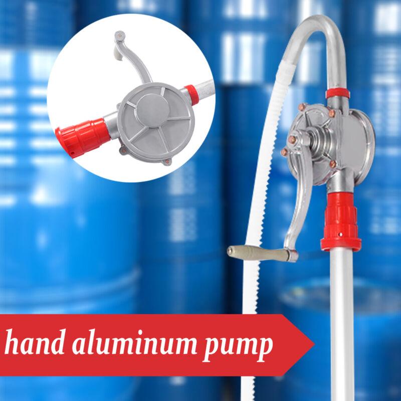 Manual Hand Crank Rotary Pump Oil Fuel Transfer Drum Barrel Tank Tool 65 Gallon