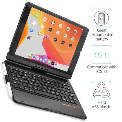 iPad 10.2 7th Gen / Pro 10.5 / Air 3rd Gen Keyboard Case, Better Typing for