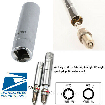 - 65mm Alloy Steel Magnetic Spark Plug Socket Removal Tool 14MM Easy to Operate