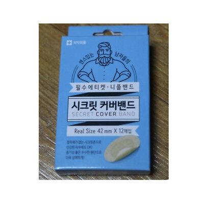 Secret Cover Band Men Nipple Cover Skin Color Sticker Patch 12pcs Ø42mm MI Korea