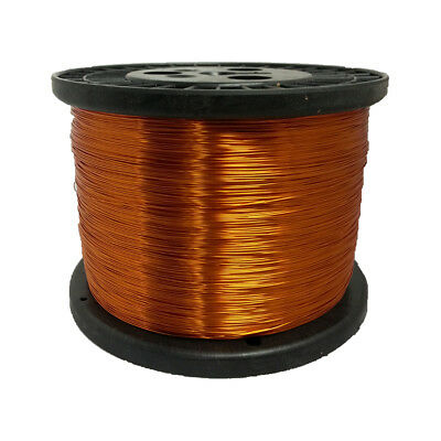 22 Awg Gauge Enameled Copper Magnet Wire 10 Lbs 5022 Length 0.0273 200c Nat