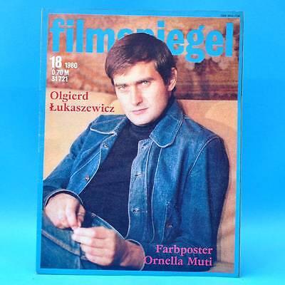 DDR Filmspiegel 18/1980 Ornella Muti Louis de Funes Concorde Affaire Potsdam N