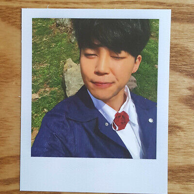 Jimin Official Photocard BTS Special Album Young Forever Kpop Genuine