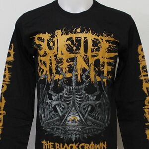 suicide silence the black crown long sleeve t shirt new size s m l xl 2xl 3xl. Black Bedroom Furniture Sets. Home Design Ideas