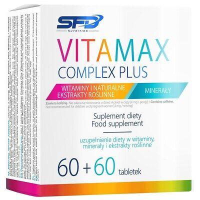 SFD VITAMAX Complex Plus 120 tab (60 + 60) Vitamins and Minerals Complex
