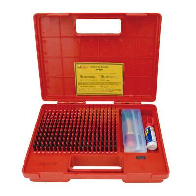 Pro-quality .011-.250 240 Piece Black Oxide Pin Gage Set 4101-0102