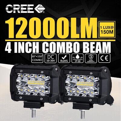 480W LED Work Light Bar Flood Spot Lights Driving Lamp Offroad  Car SUV 12V 24V