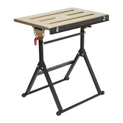 Adjustable Steel Welding Table Strong Durable Workbench