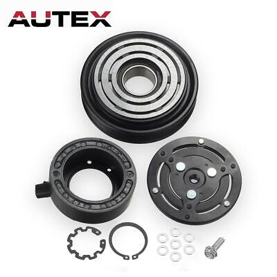 A/C Compressor Clutch Kit Pulley Coil Plate For Subaru Legacy Outback 2.5L 05-09