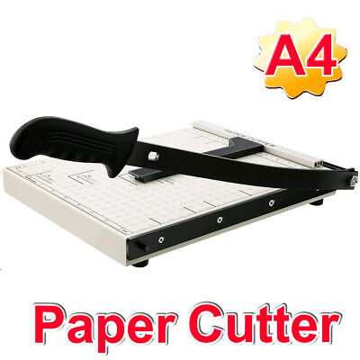 Paper Cutter A4--b7 Metal Base Guillotine Page Trimmer Blade Scrap Booking 12