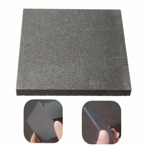 100*100*10mm 99.9% Pure Graphite Block Electrode Rectangle Plate Blank Sheet