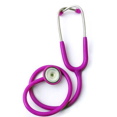 Professional Adult Child Zinc Alloy Solid Metal Plane Single-head Stethoscope