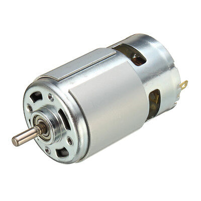 775 Dc 12v-36v 3500-9000rpm Large Torque Motor Ball Bearing High Power Low Noise