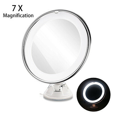 7x Magnification LED Touch Screen Makeup Mirror Cosmetic Vanity light up Mirror