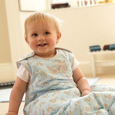 Grobag baby sleeping bag 6 - 18 or 18 - 36 months 2.5 tog Little Trikes](Little Boys Sleeping Bags)
