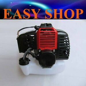 49cc 2 stroke Pull Start Engine Motor+Tank Mini Pocket Scooter Chopper Dirt Bike