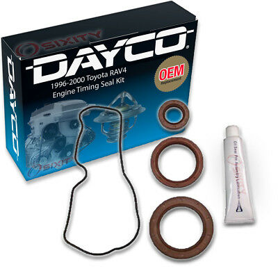Dayco Engine Timing Seal Kit for 1996-2000 Toyota RAV4 2.0L L4 - Camshaft mt