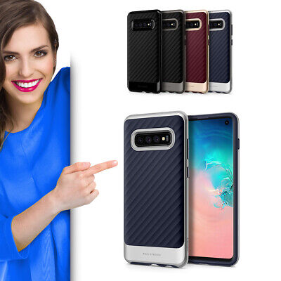 Spigen Neo Hybrid für Samsung Galaxy S10 Schutzhülle Case Cover Handy Etui Neo Hybrid