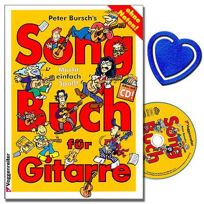 Peter Bursch's Songbuch für Gitarre 1 - Welthits Gitarrennoten - 9783802403668