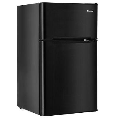 Stainless Stiletto Refrigerator Small Freezer Cooler Fridge Compact 3.2 cu ft. Unit