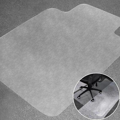 "48""x36"" PVC Home Office Carpet Hard Protector Desk Floor Mat Chair Transparent"