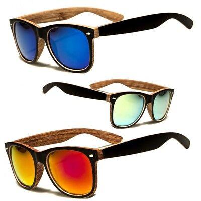 Men Women Unique Style Indie Fashion Wood Print Retro Sunglasses (Unique Sunglasses)
