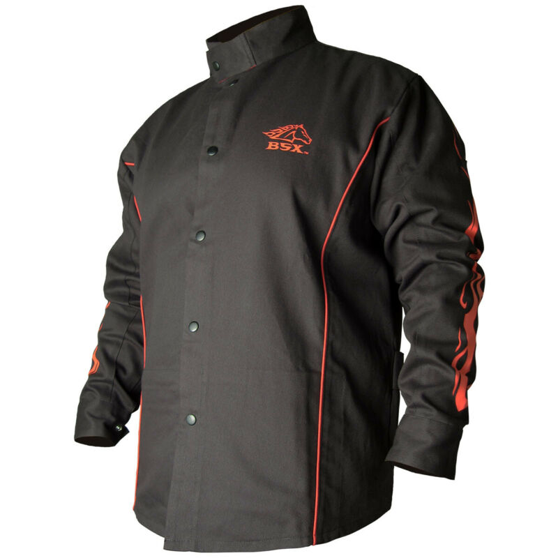 Revco Black Stallion FR Cotton Welding Jacket BX9C BSX Size Large
