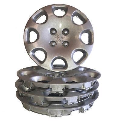 "15"" Peugeot Wheel Trims Trim Set of 4 New Hub Caps Covers 308 207 Bipper Partner"