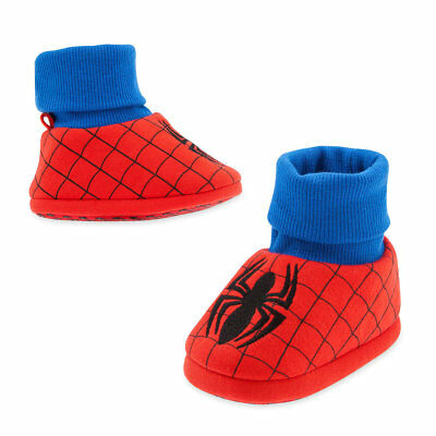 Disney Store Spider Man Baby Costume Boys Soft Slippers 0 6 12 18 24 - Spider Baby Costume