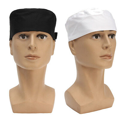Cooks Hat (Professional Chefs Mesh Top Skull Cap Restaurant Kitchen Cook Chef Catering)