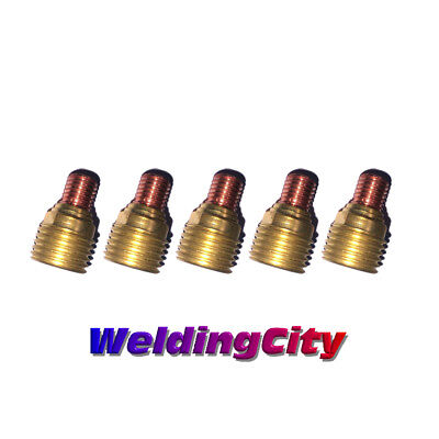 5-pk Tig Welding Gas Lens Collet Body 45v45 18 Torch 920 Us Seller Fast Ship